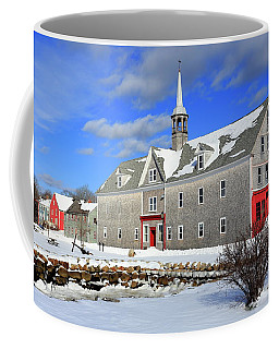 Shelburne, Nova Scotia In Winter Coffee Mug