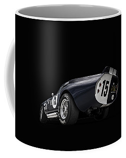 Coffee Mug featuring the digital art Shelby Daytona by Douglas Pittman