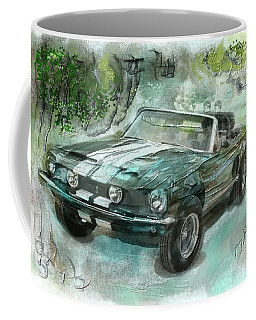 Shelby Mustang 68 Coffee Mug