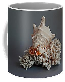 Shell And Coral Coffee Mug
