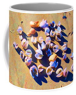 Coffee Mug featuring the photograph Shell Collection by Roberta Byram