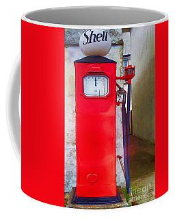 Shell Gasoline Fuel Petrol Pump  Coffee Mug