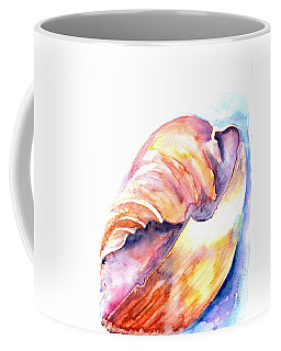 Coffee Mug featuring the painting Shell Mouth by Ashley Kujan