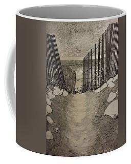 Shell Path Coffee Mug