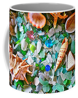 Shells And Glass Coffee Mug