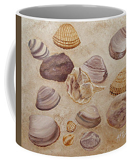 Shells And Stones Coffee Mug