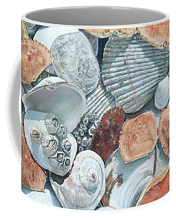 Shells Of The Puget Sound Coffee Mug