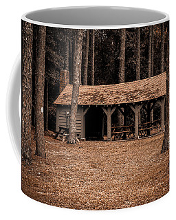 Shelter In The Woods Coffee Mug