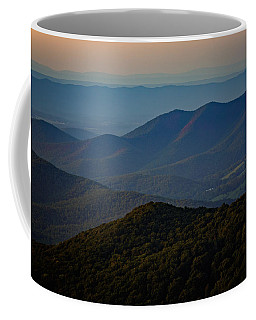 Shenandoah Valley At Sunset Coffee Mug