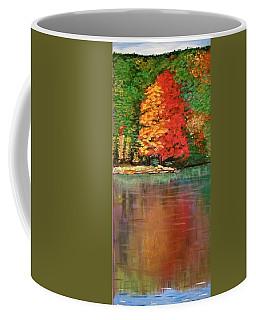 Sherando Lake Reflection Coffee Mug