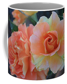 Coffee Mug featuring the photograph Sherbert Rose by Marna Edwards Flavell