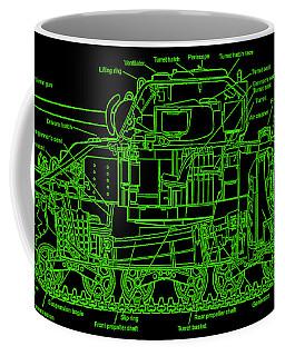 Sherman M4a4 Tank Coffee Mug