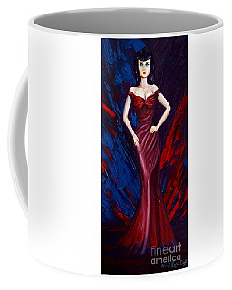 She's A Bit Of A Vamp Coffee Mug