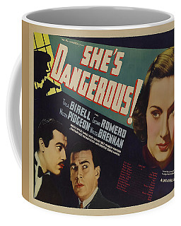 She's Dangerous 1937 Coffee Mug