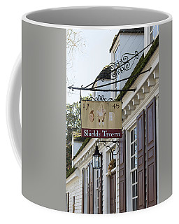 Shields Tavern Sign Coffee Mug