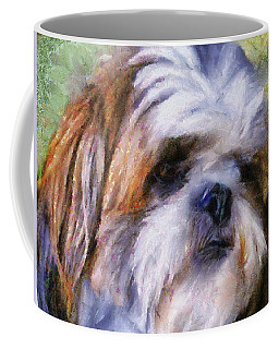 Shih Tzu Portrait Coffee Mug