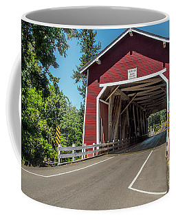 Shimanek Covered Bridge Coffee Mug