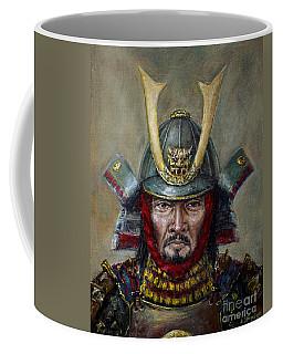 Shimazu Yoshihisa Coffee Mug by Arturas Slapsys