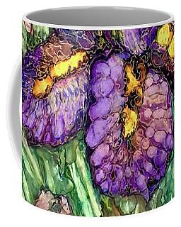 Shimmering Irises Coffee Mug