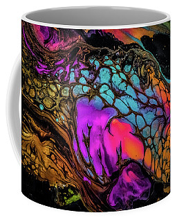 Shimmery Abstract Coffee Mug