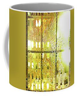 Coffee Mug featuring the mixed media Shine A Light by Tony Rubino