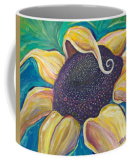Coffee Mug featuring the painting Shine Bright by Tanielle Childers