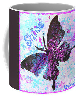 Shine Butterfly Coffee Mug