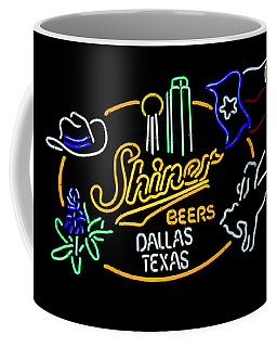 Shiner Beers Dallas Texas Coffee Mug
