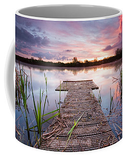 Shinewater Lake Sunrise Coffee Mug