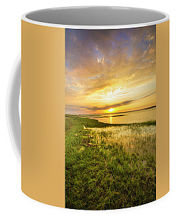 Shinnecock Bay Wetland Sunset Coffee Mug