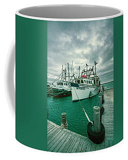 Shinnecock Fishing Vessels Coffee Mug