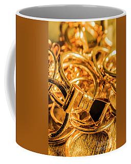 Shiny Gold Rings Coffee Mug