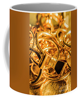 Shiny Gold Rings Coffee Mug