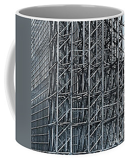 Shiny Steel Construction Coffee Mug