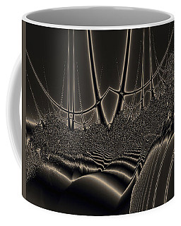 Ship Wreck Abstract Coffee Mug