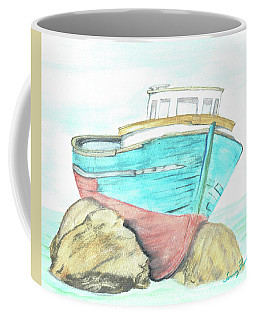 Ship Wreck Coffee Mug
