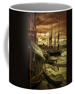 Ships From Essex Maldon Estuary Coffee Mug