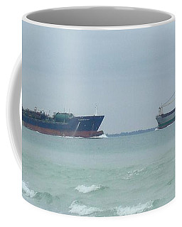 Ships Meet Coffee Mug