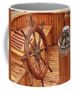 Wheel And Compass Coffee Mug
