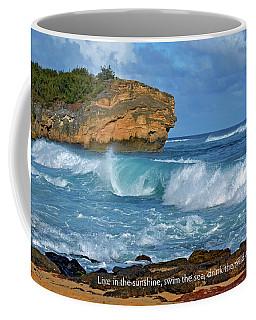 Shipwreck Beach Shorebreaks 2 Coffee Mug