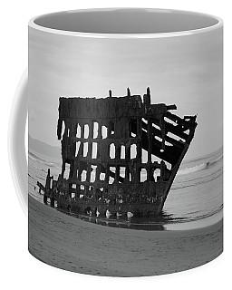 Shipwreck On The Shore Coffee Mug