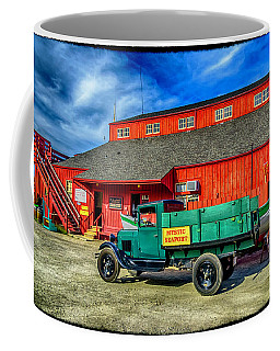 Shipyard Work Truck Coffee Mug