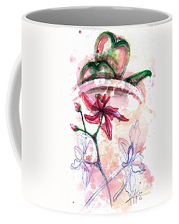 Shiraz Orchid II Coffee Mug