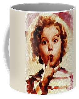 Shirley Temple, Vintage Movie Star Coffee Mug