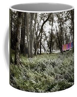 Shirts In A Floodplain Forest Coffee Mug