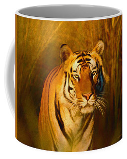 Coffee Mug featuring the painting Shiva - Painting by Ericamaxine Price