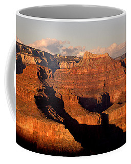Shiva Temple  At Sunset Grand Canyon National Park Coffee Mug