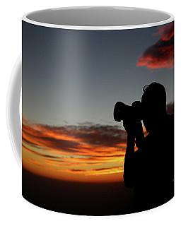 Shoot The Burning Sky Coffee Mug