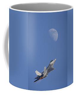 Coffee Mug featuring the photograph Shoot The Moon by Adam Romanowicz