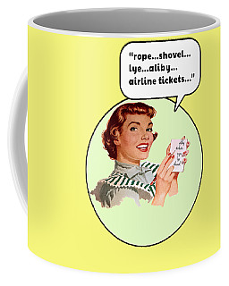 Shopping List Coffee Mug
